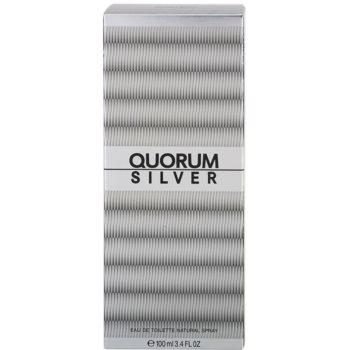 Antonio Puig Quorum Silver Eau de Toilette für Herren 4