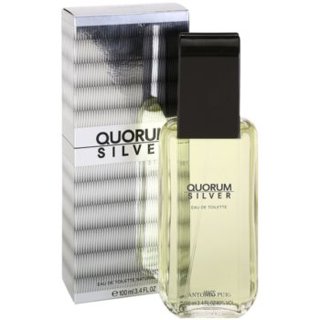 Antonio Puig Quorum Silver Eau de Toilette para homens 1
