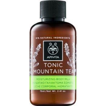 Apivita Body Tonic Bergamot & Green Tea tonizující mléko na tělo 75 ml