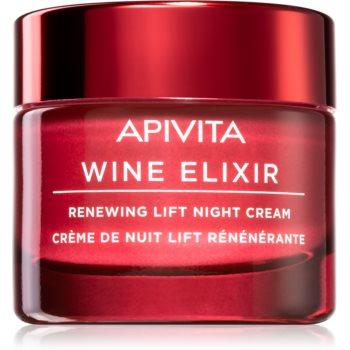 Apivita Wine Elixir Santorini Vine cremă pentru întinerire cu efect de lifting pentru noapte