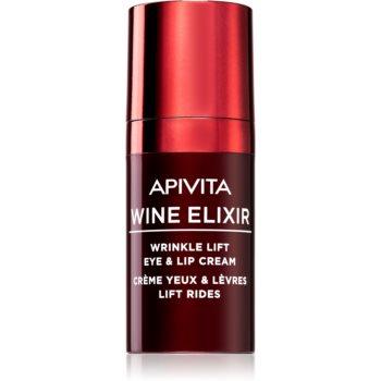 Apivita Wine Elixir Santorini Vine crema anti - rid pentru ochi si jurul ochilor cu efect lifting
