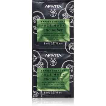 Apivita Express Beauty Cucumber mascã facialã intens hidratantã imagine produs