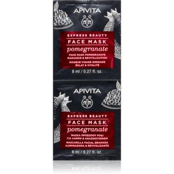 Apivita Express Beauty Pomegranate Mascã facialã pentru revitalizare ?i iluminare imagine produs