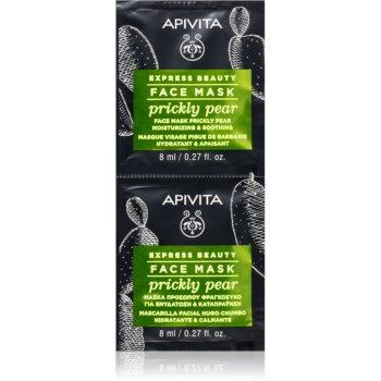 Apivita Express Beauty Prickly Pear masca calmanta pentru fata cu efect de hidratare imagine produs