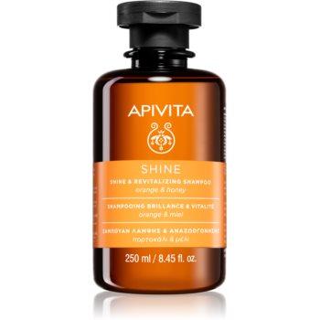 Apivita Holistic Hair Care Orange & Honey sampon revitalizant pentru intarire si stralucire