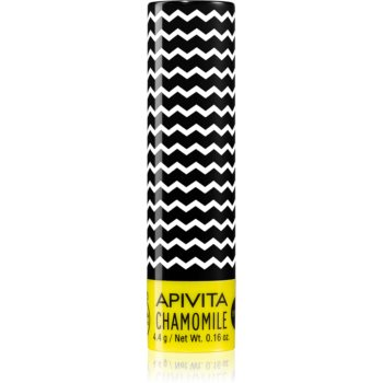 Apivita Lip Care Chamomile Balsam de buze hidratant SPF 15 poza noua