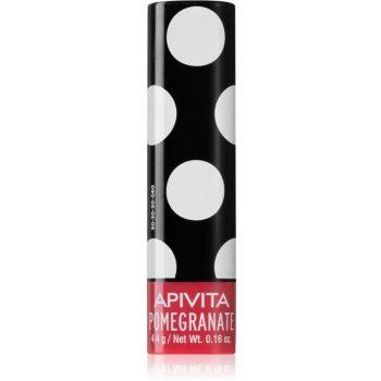 Apivita Lip Care Pomegranate Balsam de buze hidratant poza noua