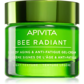 Apivita Bee Radiant gel crema deschisa anti-imbatranire si de fermitate a pielii imagine produs