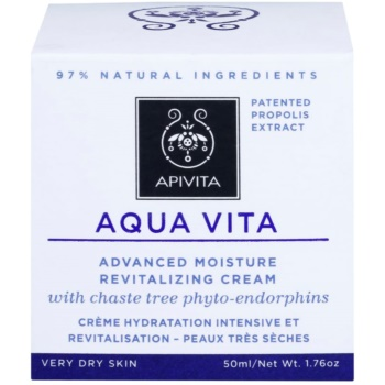 Apivita Aqua Vita интензивно хидратиращ и ревитализиращ крем за много суха кожа 2