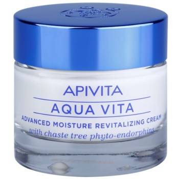Fotografie Apivita Aqua Vita intenzivní hydratační a revitalizační krém pro normální a suchou pleť 50 ml