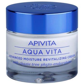 Fotografie Apivita Aqua Vita intenzivní hydratační a revitalizační krém pro smíšenou a mastnou pleť 50 ml