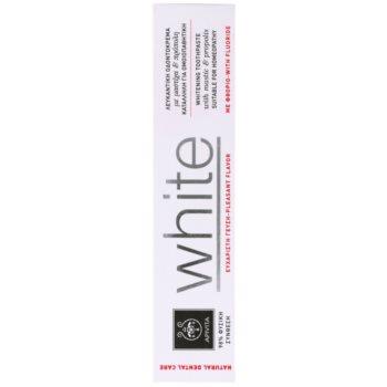 Apivita Natural Dental Care White избелваща паста за зъби 2
