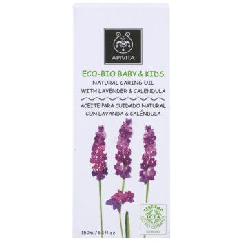 Apivita Eco-Bio Baby & Kids hydratační a zklidňující olej pro děti 3