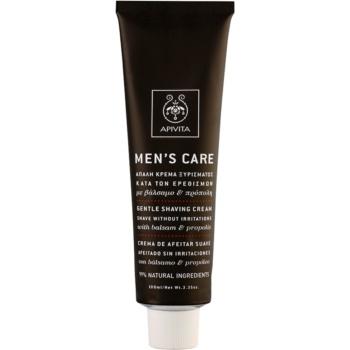 Apivita Men's Care Balsam & Propolis jemný krém na holení 100 ml
