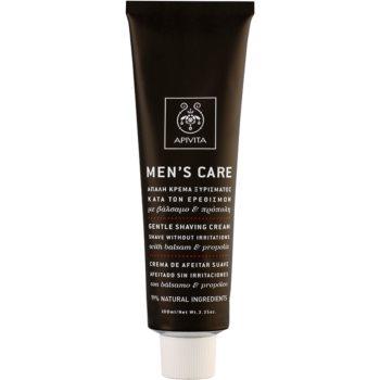 Apivita Men's Care Balsam & Propolis sanfte Creme für die Rasur