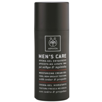 Apivita Men's Care Cedar & Propolis gelový krém s hydratačním účinkem 50 ml