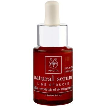 Apivita Natural Serum protivráskové a omlazující sérum