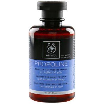 Apivita Propoline Lavender & Honey szampon do skóry wrażliwej