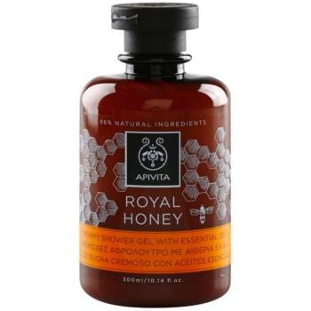 Apivita Royal Honey krémový sprchový gél s esenciálnymi olejmi