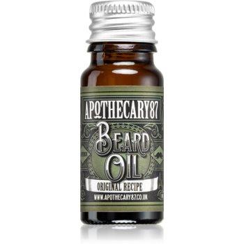 Apothecary 87 Original Recipe ulei pentru barba