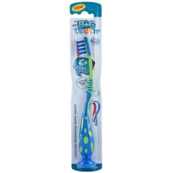 Aquafresh Big Teeth szczotka do zębów dla dzieci soft