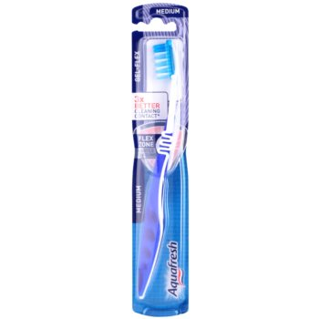 Aquafresh Gel-Flex escova de dentes medium