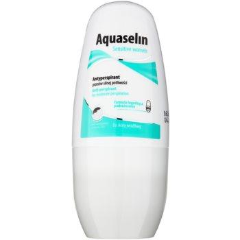 Aquaselin Sensitive women antiperspirant roll-on pro citlivou pokožku