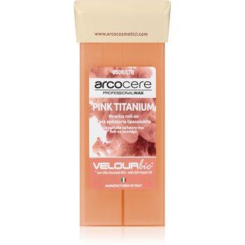 Arcocere Professional Wax Pink Titanium cearã depilatoare roll-on imagine produs