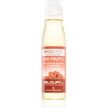 Arcocere After Wax Red Fruits ulei calmant pentru curatare dupã epilare imagine produs