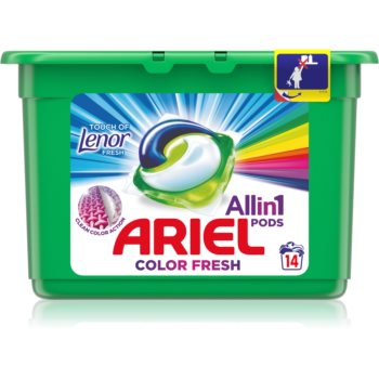 Ariel Color Touch Of Lenor capsule de spãlat imagine produs