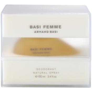 Armand Basi Basi Femme Deo mit Zerstäuber für Damen 3