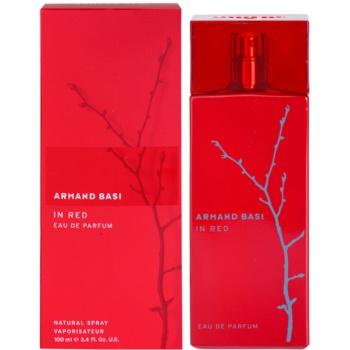 Fotografie Armand Basi In Red parfemovaná voda pro ženy 100 ml
