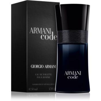 Armani Code Eau de Toilette pentru barbati 50 ml