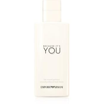 Armani Emporio Because Its You lapte de corp pentru femei