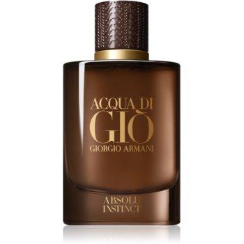 Armani Acqua di Giò Absolu Instinct eau de parfum pentru bărbați 75 ml
