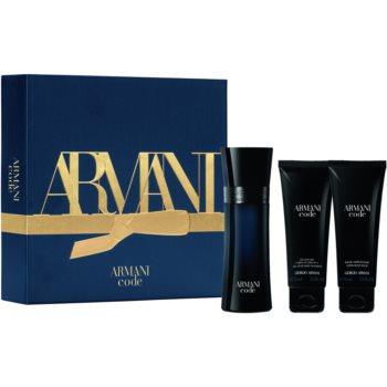 Armani Code toaletní voda 50 ml + parfémovaný sprchový gel 75 ml + parfémované tělové mléko 75 ml