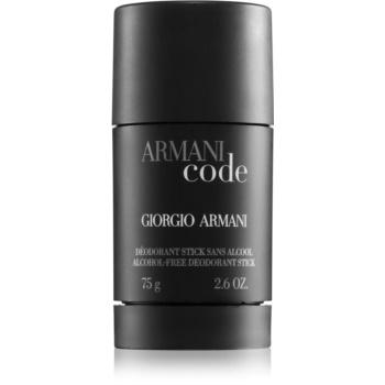 Fotografie Tuhý deodorant pro muže Giorgio Armani Armani Code, 75 g