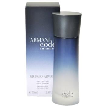 armani code summer pour homme 2011 eau de toilette f r. Black Bedroom Furniture Sets. Home Design Ideas