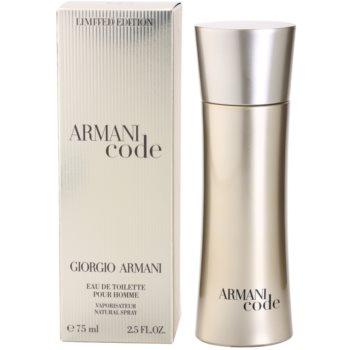 Armani Limited Edition Golden Pour Homme Eau de Toilette for Men