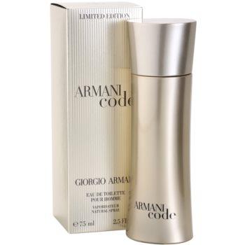 Armani Limited Edition Golden Pour Homme Eau de Toilette for Men 1