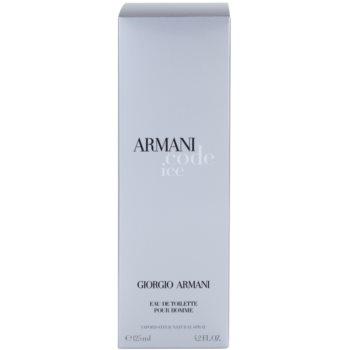 Armani Code Ice тоалетна вода за мъже 4