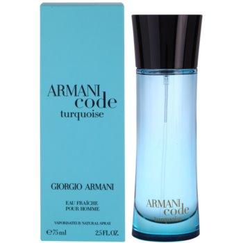 Armani Armani Code Turquoise Eau de Toilette pentru barbati