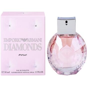 Fotografie Armani Emporio Diamonds Rose toaletní voda pro ženy 50 ml