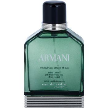Armani Eau de Cedre туалетна вода тестер для чоловіків 1