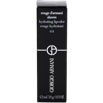 Armani Rouge D´Armani Sheers vlažilna šminka 4