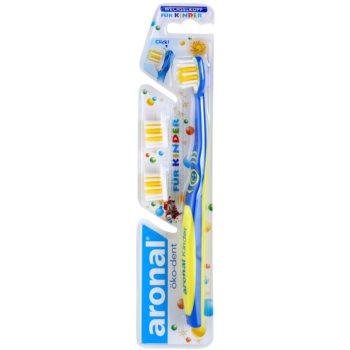 Aronal Kids zubní kartáček pro děti + 2 náhradní hlavice