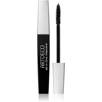 Artdeco All in One Mascara Wimperntusche für mehr Volumen, Styling und Wimpernlifting Farbton 202.01 Black 10 ml