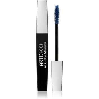 Artdeco All in One Mascara Wimperntusche für mehr Volumen, Styling und Wimpernlifting Farbton 202.05 Blue 10 ml