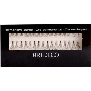 Fotografie Artdeco False Eyelashes permanentní umělé řasy (Medium Black 670.2)