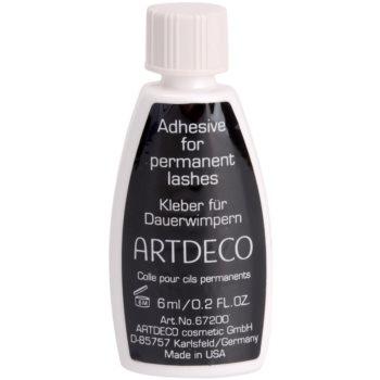 Fotografie Artdeco lepidlo na umělé řasy v trsech Průhledná